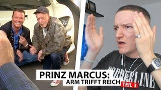 Justin reagiert auf Prinz Marcus trifft Obdachlosen (Teil 3) | Reaktion