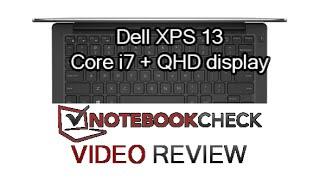 Dell XPS 13 QHD Core i7 Skylake Core i7-6500U Review inc. screen test
