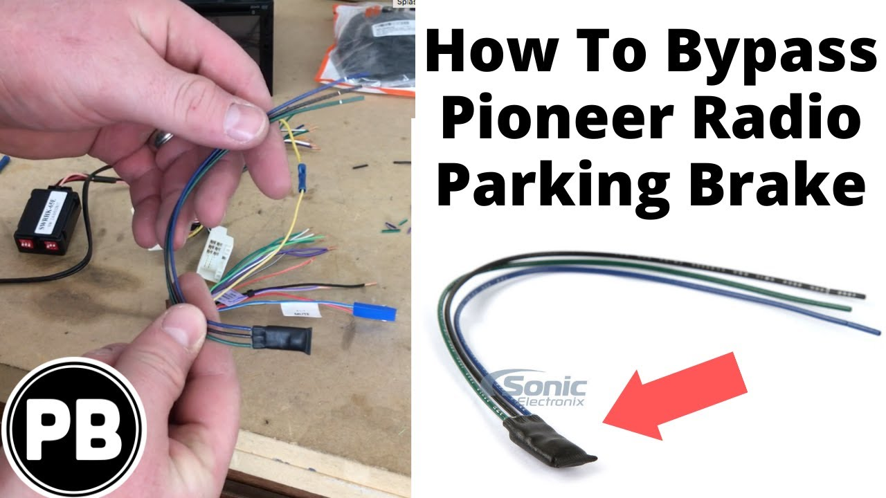 hight resolution of how bypass the video restriction on a pioneer radio