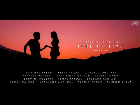 Tere Hi Liye || Trailer || Love Song || Music Video || Releasing on 20th Nov