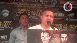 Boxing 360 - Maidana - Lopez - Angulo - Lara Los Angeles Press Conference Part 7