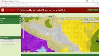 Jeoloji Haritası için MTA'nın Sitesinden Veri İndirme / yerbilimleri.org