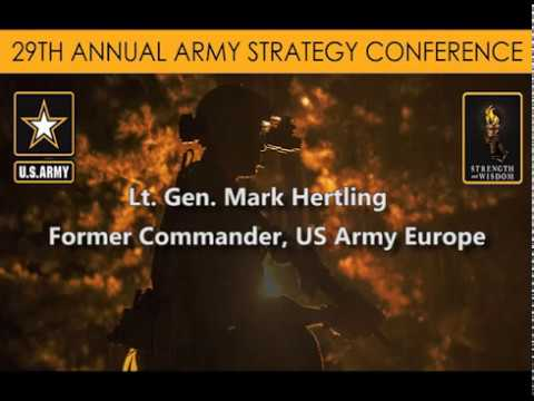 Army Strategy Conf. - Strategy leader Qualities - Army War College