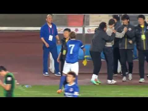 Shanghai Shenxin vs Beijing Guoan, Chinese Super League 2014 (Round 12)