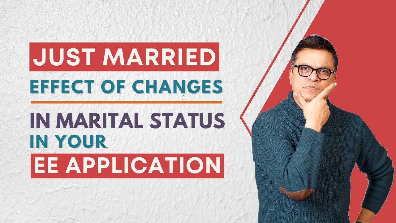 Getting married or birth of a baby during your express entry application