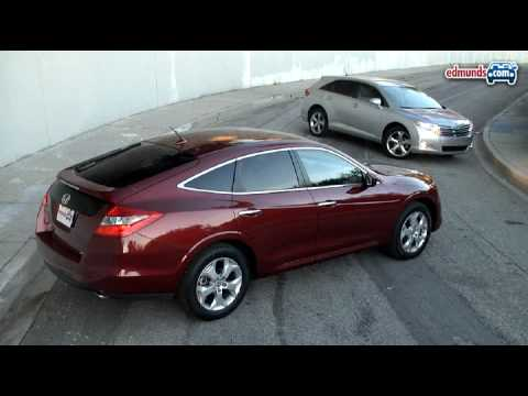2010 Honda Accord Crosstour Vs. 2009 Toyota Venza | Edmunds.com   YouTube