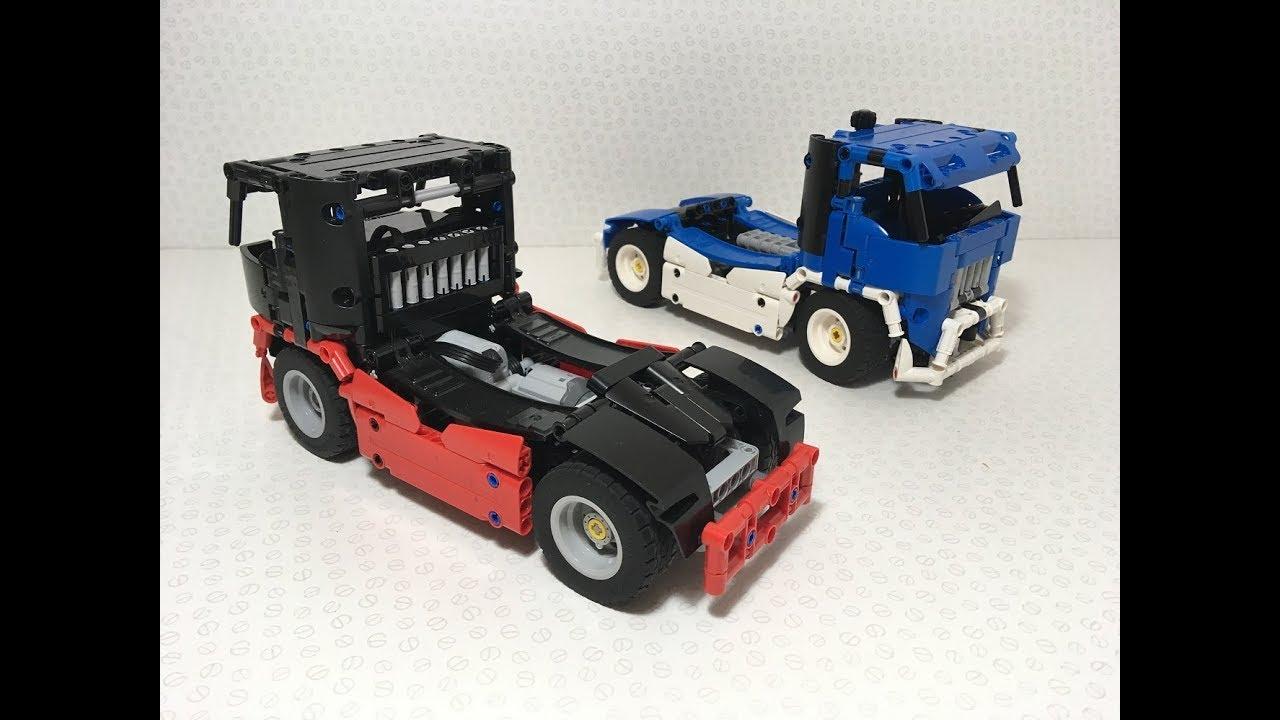 RBi Bauanleitung instructions 42098 Sattelzug Auflieger C-Modell MOC aus LEGO