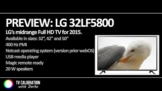 lg lf5800 full hd tv preview with input lag check