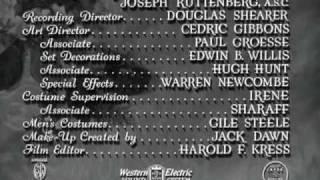 Herbert Stothart scores - MADAME CURIE (1943)