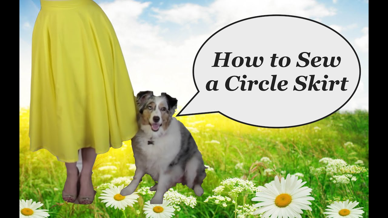 How to sew a circle skirt The Rachel Dixon retro tutorial ...