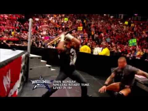 WrestleMania 25 – Triple H VS Orton