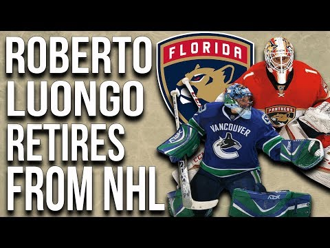 Roberto Luongo Retires From The Nhl