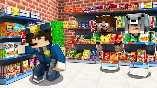 FAKİR GÖRÜNMEZ OLUP DÜKKANDA SAKLANDI! 😱 - Minecraft
