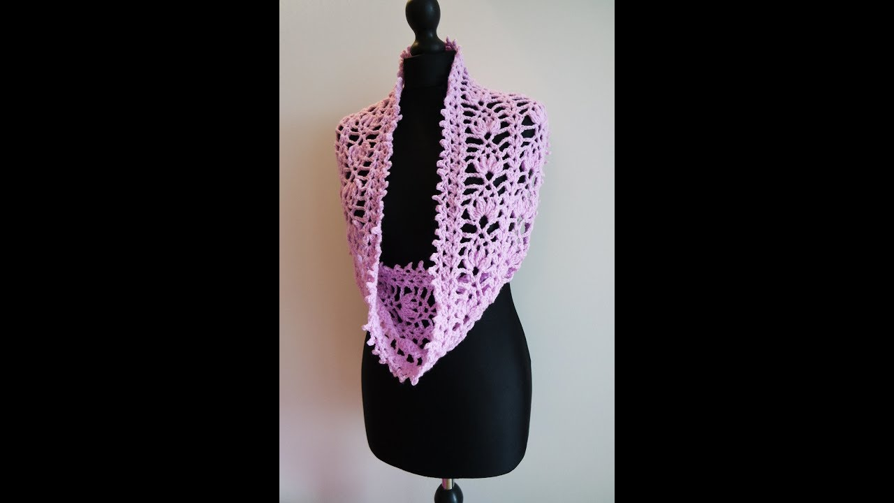 How to crochet pineapple cowl scarf pattern free tutorial youtube how to crochet pineapple cowl scarf pattern free tutorial bankloansurffo Choice Image