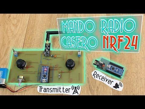 Pr#31 Mando de radio barato/casero con NRF24 - 7 canales o más