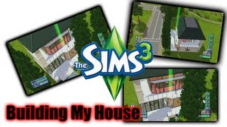 Building My House - The Sims 3 (PlayStation 3)