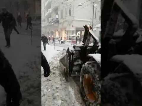 9 ocak 2017 istanbul yoğun kar yağışı