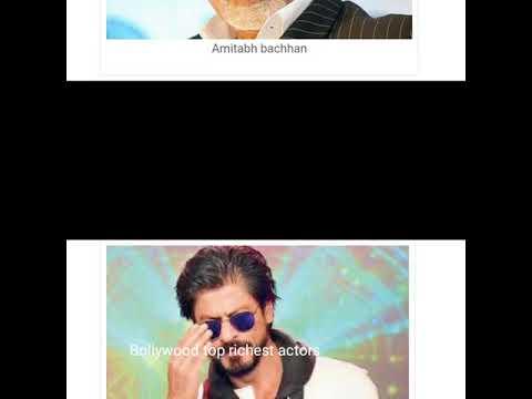 "Top richest Bollywood actors 2018 by pratap tech company""pratapteccompany"""
