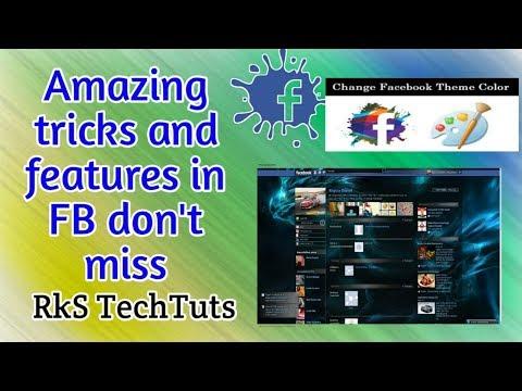 Amazing tricks and features in Facebook 2018   Telugu   RkS TechTuts
