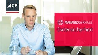 Managed Services Datensicherheit