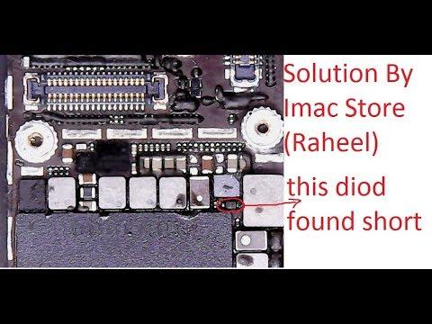 new product bc19a 0b37f iphone 6 no light no display problem fix in hindi