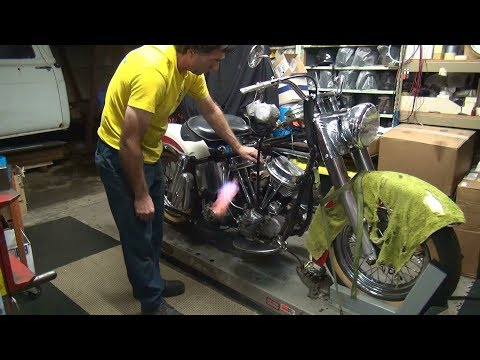 1958 panhead 74ci #148 fl bike rebuild topend repair harley by tatro machine