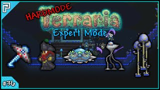Let's Play Terraria 1.3 Expert Mode (PC) | UFO Mount & Cultist Boss Battle! [#36]