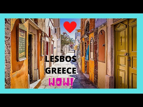 Island Of LESBOS: The Stunning, Traditional Village 🏘️ Of Agiasos (Greece)
