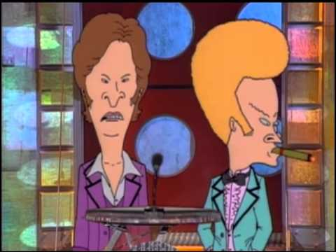 "BEAVIS & BUTTHEAD ANNOUNCE ""DO AMERICA"" AT 1994 MTV MUSIC AWARDS SKIT"