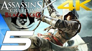Assassin's Creed 4 Black Flag - Gameplay Walkthrough Part 5 - Meeting Assassins [4K 60FPS]