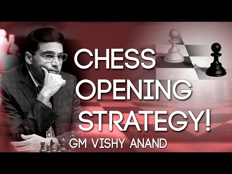 Good CHESS OPENING STRATEGY! - GM Vishy Anand