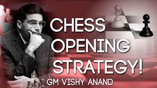 VISHY ANAND goes over his Chess Opening Strategy ♚ !!