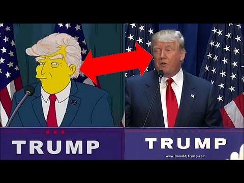 Donald TRUMP SENSATION & Die Simpsons Prophezeiung im Jahr 2000 | **COMEDY**