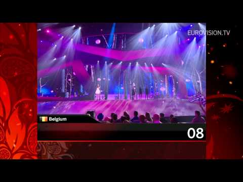 Recap of all the songs from the 1st Semi Final 2012 Eurovision Song Contest