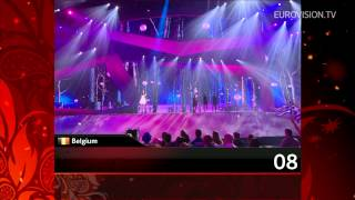 Recap of all the songs from the 1st Semi Final (2012 Eurovision Song Contest)