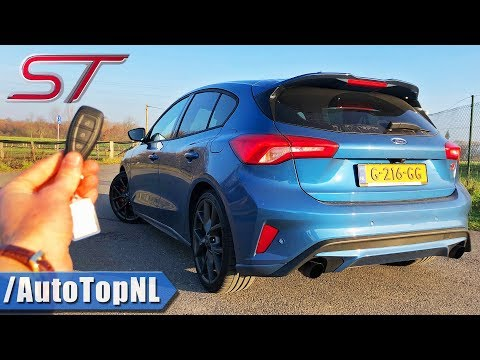2020 FORD FOCUS ST MK4 REVIEW POV On AUTOBAHN (NO SPEED LIMIT) By AutoTopNL