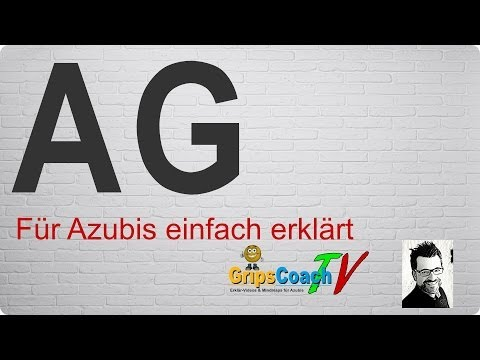 Aktiengesellschaft einfach erklärt - Prüfungswissen für Azubis ★ GripsCoachTV