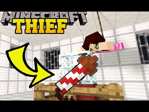 Minecraft: GAMINGWITHJEN IS A THIEF!! - FIREWORKS ENGINEER - Custom Map