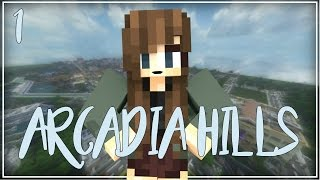 Moving Day | Arcadia Hills [S1:E1] (Minecraft High School Roleplay)