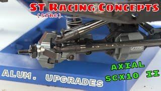 Axial SCX10 II - STRC Aluminum Upgrades Installation & Overview