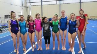 Gymnastics with the SevenSuperGirls!