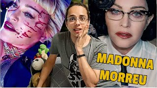 React: Madonna - God Control | Colornicornio
