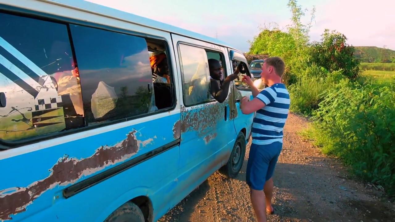 Путешествие русских по Анголе. Дороги, преступность, уличные торговцы.