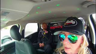 Rally Cab with Kubo Kordisch/Scott Anderson 100 Acre Wood Rally