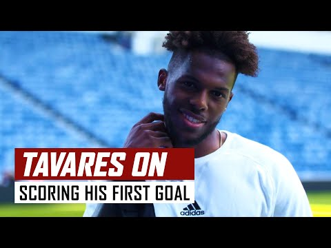 'I'm so excited for this!' | Nuno Tavares on scoring his first goal | Rangers 2-2 Arsenal