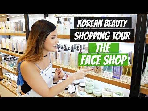 THE FACE SHOP SHOPPING TOUR   Recommendations + Inside K-Beauty Store