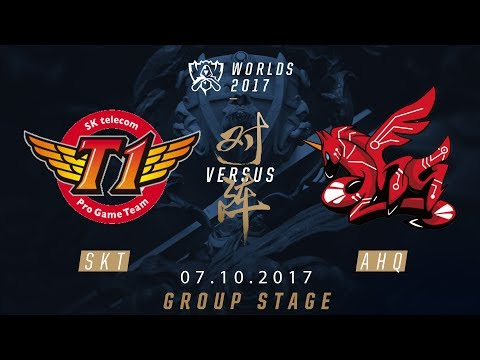[07.10.2017] SKT vs AHQ [Group Stage][CKTG2017][Bảng A]