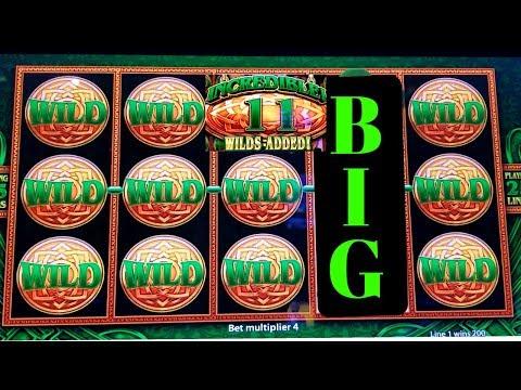 ✦BIG WIN✦ WILD Lepre'COINS Slot Machine Bonus BIG WIN ! Live Slot Play + Konami Solar Blessing Bonus
