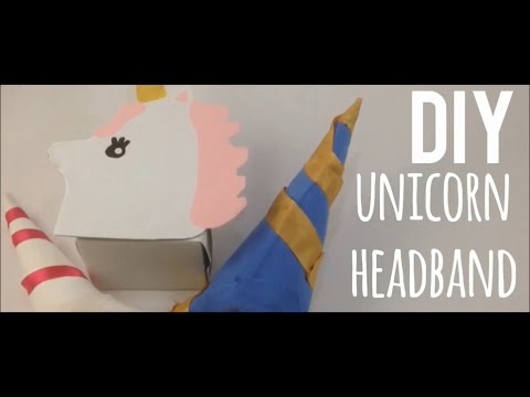 DIY UNICORN Headband!!