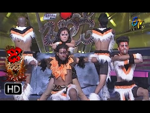 Vinay and Rishika Performance | Dhee Jodi | 22nd March 2017 | ETV Telugu